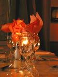 ustawienie tabeli obiad zdjęcia stock