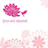 Usted es especial Fotografía de archivo