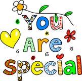 Usted es especial Foto de archivo libre de regalías