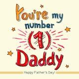Usted es mi papá del número uno