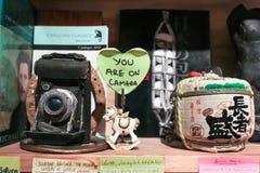 Usted está en muestra de la cámara Fotografía de archivo libre de regalías