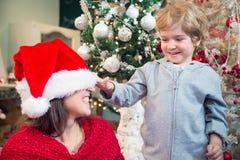 Usted está listo ahora para Papá Noel Fotos de archivo