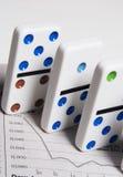 Usted futuro financiero no es ningún juego Fotografía de archivo libre de regalías