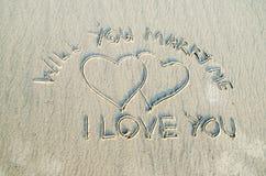 Usted me casará Imagen de archivo