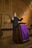 Sacerdote, predicador, ministro, clero, religión Fotografía de archivo