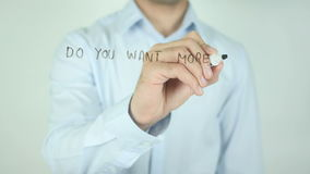 ¿Usted quiere más ventas? ¡Podemos ayudar! , Escribiendo en la pantalla transparente metrajes