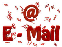 Usted tiene el email stock de ilustración
