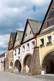 Ustek stad, Tjeckien, Europa Arkivbild
