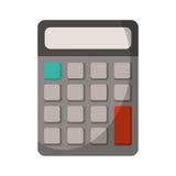 ustensile d'école de maths de calculatrice Image libre de droits