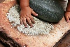 Ustensile de cuisine de Batan Photographie stock