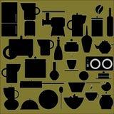 Ustensiles de cuisine Images libres de droits