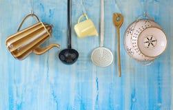 Ustensiles de cuisine de vintage Photographie stock