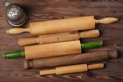Ustensiles de cuisson de vintage Photo stock
