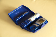 Ustensiles de diabète Image libre de droits