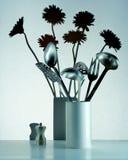 Ustensiles de fleur Photos libres de droits