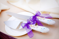 Ustensiles de mariage Photo stock