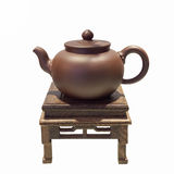 Ustensiles de thé de chinois traditionnel Images libres de droits