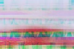Usterka artefaktów wykoślawienia cyfrowy abstrakcjonistyczny tło, środek szkoda royalty ilustracja