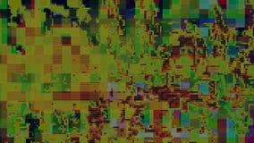 Usterka artefaktów wykoślawienia cyfrowy abstrakcjonistyczny tło, kanał szkoda royalty ilustracja