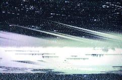 Usterki TV ekran Obraz Stock