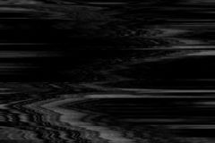 Usterki vhs monochtome hałasu abstrakt, wykoślawienie ilustracja wektor