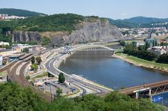 Usti nad Labem, Czech republic Royalty Free Stock Photo