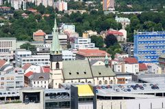 Usti nad Labem, Czech republic Royalty Free Stock Photography