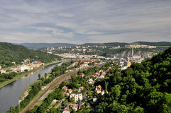 Usti nad Labem, Czech republic Stock Photo