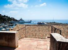 Ustica island view. Sicily. Ustica island view.  Cala Santa Maria, Sicily Royalty Free Stock Photography