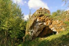 Ustinovskii Canyon, Southern Urals Stock Photography