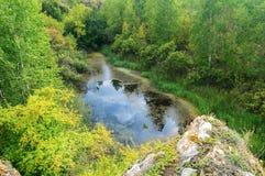 Ustinovskii Canyon, Southern Urals Stock Images
