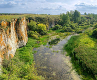 Ustinovskii Canyon, Southern Urals Stock Photos