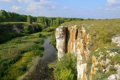 Ustinovskii Canyon, Southern Urals Royalty Free Stock Image