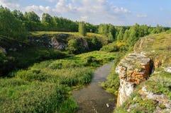 Ustinovskii Canyon, Southern Urals Stock Photo