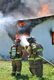 Ustione del fuoco fotografia stock libera da diritti