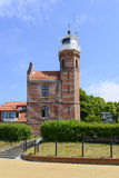 Ustka lighthouse Stock Images