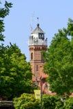 Ustka lighthouse Stock Photos