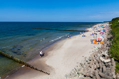 Ustronie Morskie, Poland - June 20, 2016. Royalty Free Stock Photography