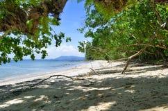 Ustronna Sabai plaża przy Mook wyspą Obrazy Stock