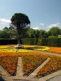Ustronny ogród przy St Fagans, Cardiff Obraz Royalty Free