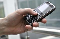 Usuário de Smartpfone. Imagem de Stock Royalty Free