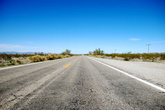Usual Arizona Highway Royalty Free Stock Photography