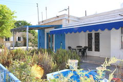 A usual house in Paphos, Cyprus Royalty Free Stock Photo