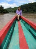 Usumacinta Fluss-Reise lizenzfreies stockbild