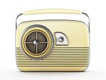 usunąć wszystkie odosobnione radio logo white roczna Obrazy Royalty Free