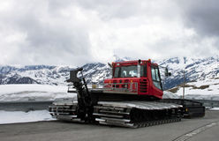 usunięcie maszynowy śnieg Obraz Royalty Free