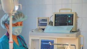 Usunięcie zły bolak mammary gruczoł Instalacja implant piersi po usunięcia rakowe bolak zbiory wideo