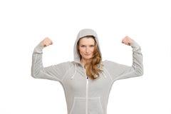 Usure convenable de sport de femme photo stock