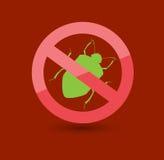 Usuwa wesz insektów symbol zdjęcia stock