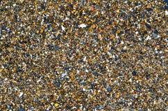 Usuwający kamienie na brzeg morze Japonia, lato na gorącym dniu tekstura naturalny kamień są bardzo piękni Fotografia Stock